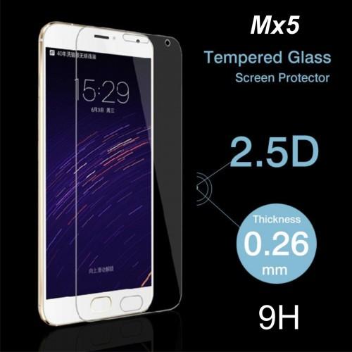PELLICOLA PROTETTIVA TEMPERED GLASS vetro temperato 9H 2.5D 0.26 mm MEIZU MX5
