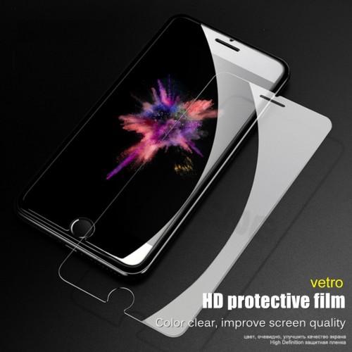 PELLICOLA TEMPERED GLASS protector VETRO TEMPERATO per IPHONE 4 5 6 7 8 PLUS X