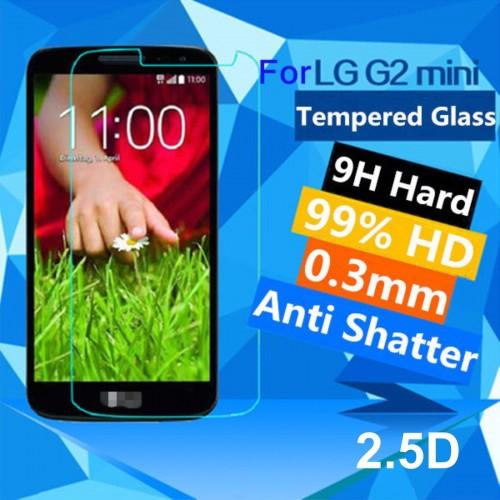 PELLICOLA protettiva vetro temperato 0.26 9H 2.5D per LG G2 mini tempered glass