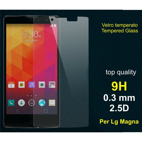 PELLICOLA protettiva vetro temperato LG MAGNA H500F tempered glass 9H 0.3mm 2.5D