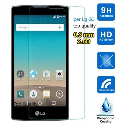 PELLICOLA protettiva vetro temperato LG Spirit 4G LTE tempered glass 9H 0.3mm