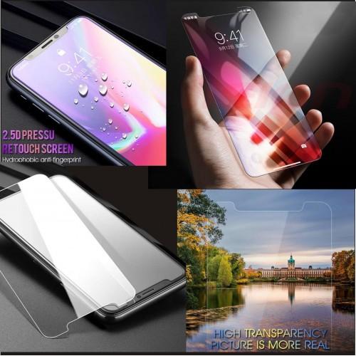 PELLICOLA vetro temperato HD protezione display a 360° per apple IPHONE X XS XR