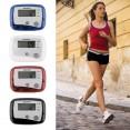 Pedometro Contapassi Contatore Calorie con Schermo LCD Digitale fitness corsetta