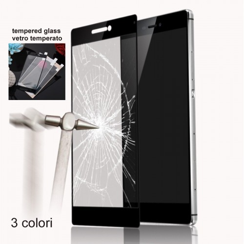 Pellicola VETRO TEMPERATO tempered glass colorful display per huawei Mate 7 8 9