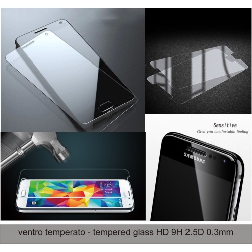 Pellicola in VETRO temperato protezione display per SAMSUNG GALAXY Note 2 3 4 5
