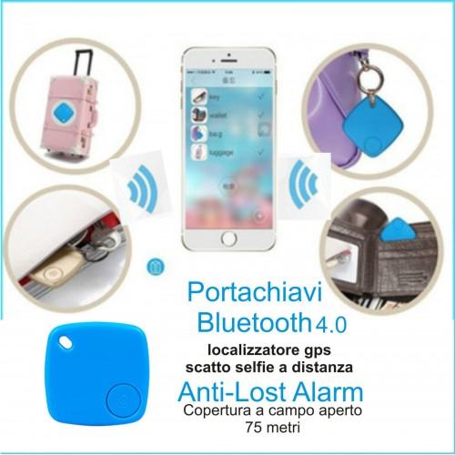 Portachiavi bluetooth 4.0 scatto selfie foto trova oggetti localizzatore gps