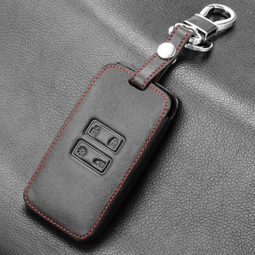 Portachiavi in pelle Lusso per Renault Kadjar Koleos Keyless Cover Chiave