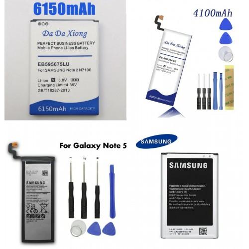 Ricambio BATTERIA mah compatibile per modelli SAMSUNG Galaxy Note 1 2 3 4 5 8