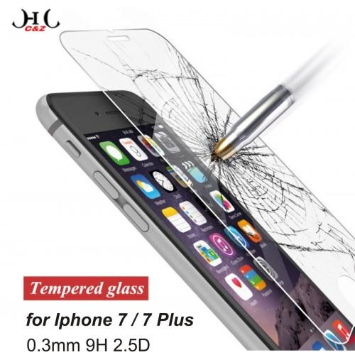 TEMPERED GLASS protector VETRO TEMPERATO 0.3mm HD per Apple IPHONE 6 7 S Plus