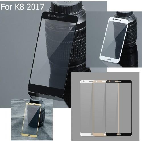 Vetro temperato colorful per LG K3 K4 K5 K7 K8 K10 Q6 Q8 X power cam mach Style