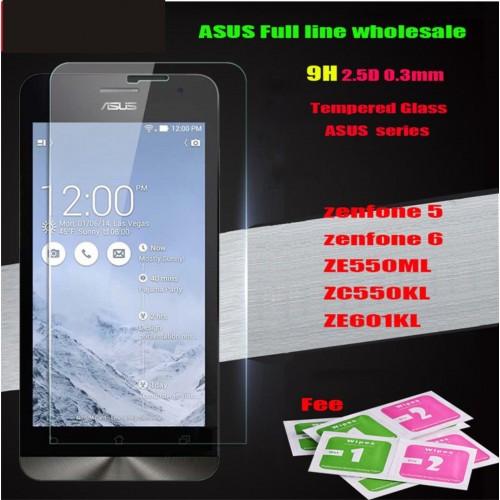 Vetro temperato glass screen protector pellicola per modelli Asus Zenfone & 2016