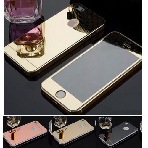 X2 PELLICOLA tempered glass vetro temperato FRONT+BACK IPHONE 4 5 6 7 plus 9H