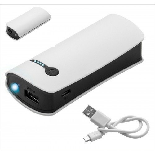 caricabatteria power bank 4000 mah universale con cavo per Samsung iphone huawei