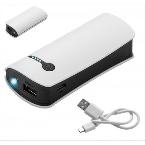 caricabatteria power bank 4000mah universale con cavo per Samsung iphone huawei.