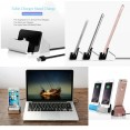 caricabatteria smartphone stand docking station per Apple iPhone Android type C