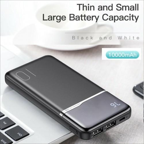 caricabatteria universal powerbank 10000 mah dual USB output per samsung iphone