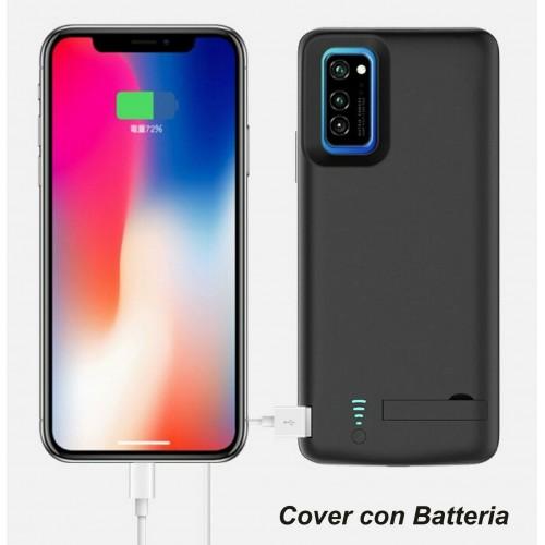 cover antiurto con batteria in silicone powerbank 5000mah per Xiaomi 9 10 Pro