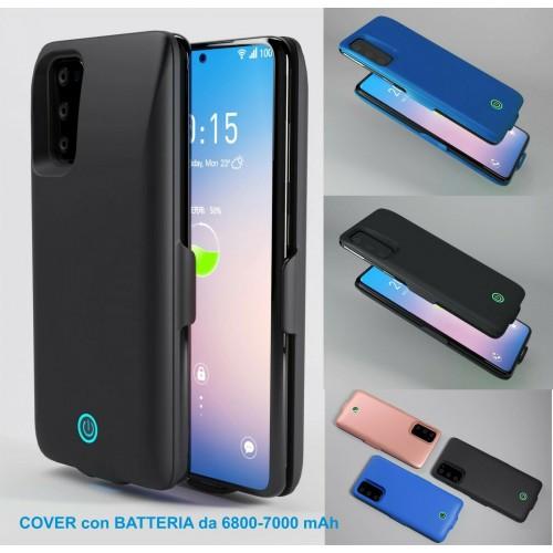 cover con batteria powerbank pr Samsung Note 8 9 10 20 Ultra pro caricabatteria