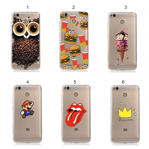 cover custodia case silicon gelato gufo bross per Xiaomi Redmi Note 4 X 3 Pro 5A
