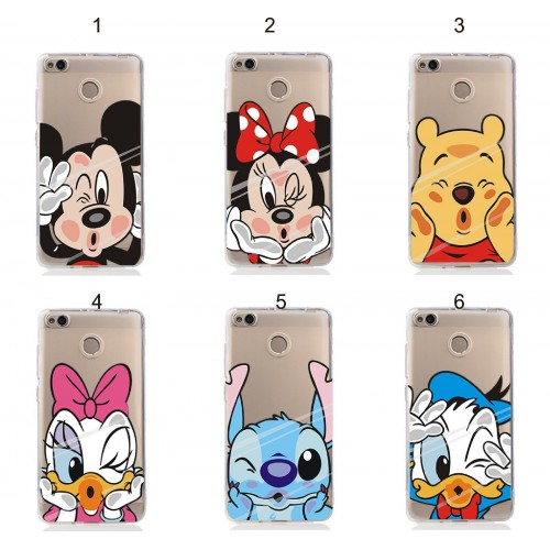 cover custodia case silicon minnie mickey stitch per Xiaomi Redmi Note 4 X 3 Pro