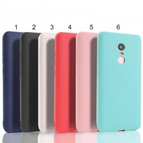 cover custodia case silicone preformato parabordi per Xiaomi Redmi Note 4A 4X 4
