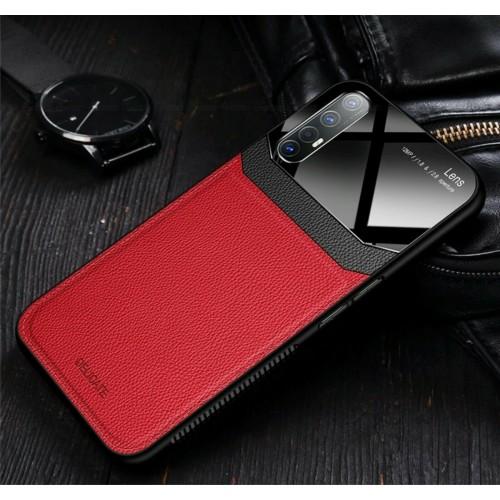 cover custodia silicone antiurto effetto pelle per Oppo Find X2 X3 Pro Lite Neo