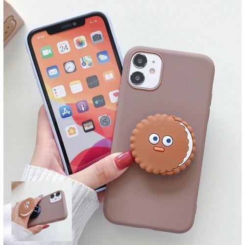 cover silicone paraurti biscotto gancio per Xiaomi redmi Note 7 8 8T 9 pro max