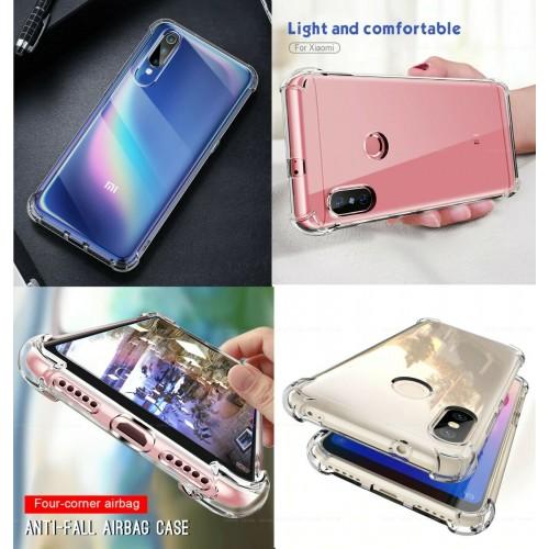 cover trasparente silicone antiurto  per Xiaomi redmi 1 6A 7 8 9A 9C 10X pro 5G