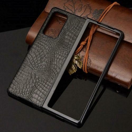 custodia cover antiurto ultra resistente tpu effetto pelle per Samsung Z Fold 2