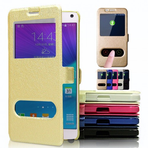 flip COVER CUSTODIA CASE pelle per HUAWEI P8 lite enjoy 5 6 7 plus Y3 Y5 2017