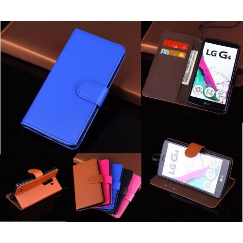 flip COVER Custodia Case vintage magnetica in pelle con slot card per LG G4 G5