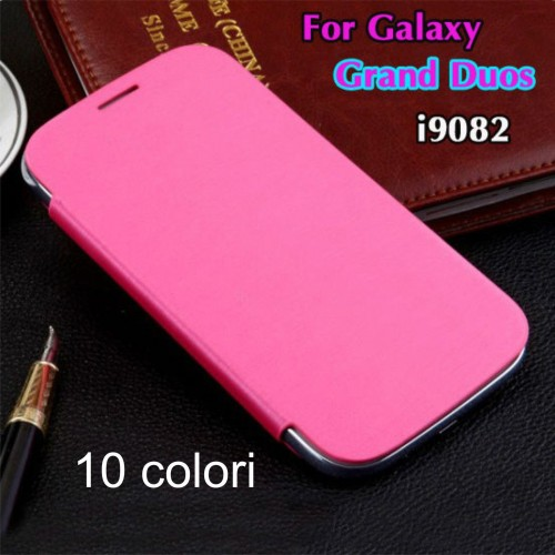 flip Cover Custodia Case libro Fashion cuoio per Samsung Galaxy Grand Neo i9060