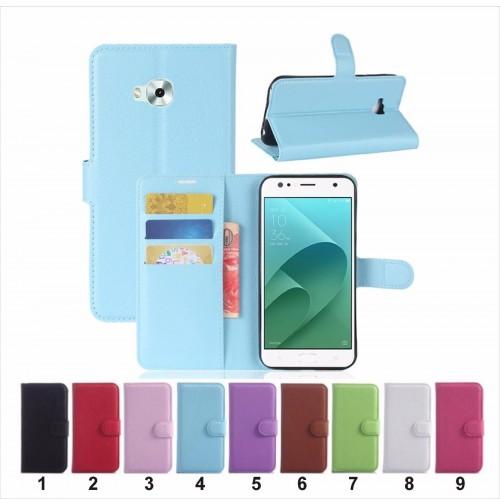 flip Cover custodia Case clip magnetico in pelle per Asus Zenfone 4 selfie & PRO