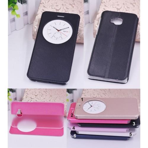 flip Cover custodia Case cuoio con window per Asus Zenfone 4 selfie PRO ZD552KL