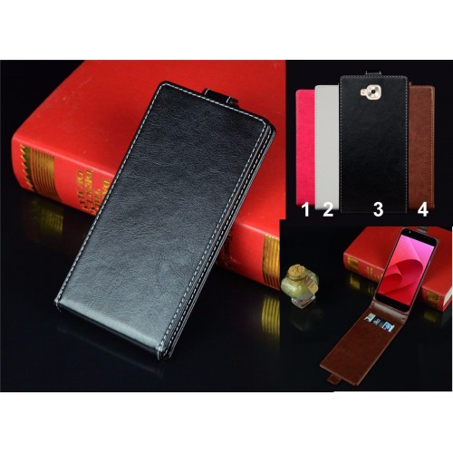 flip Cover custodia Case in cuoio a portafoglio per Asus Zenfone 4 selfie & PRO