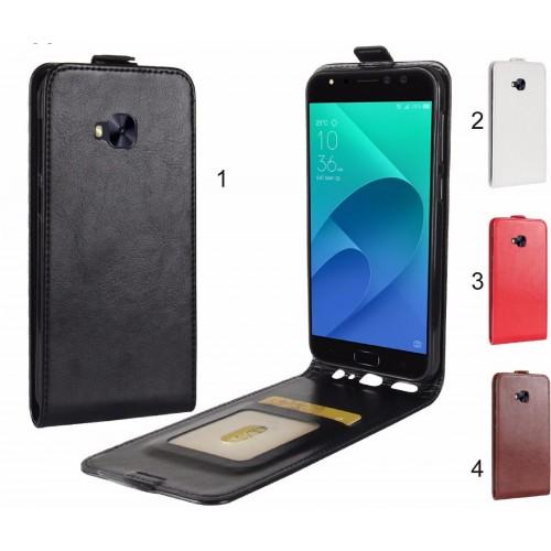 flip Cover custodia Case pelle portafoglio per Asus Zenfone 4 selfie PRO ZD552KL