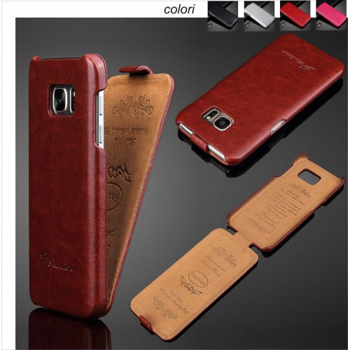 flip Custodia Cover case in pelle Fashion per Samsung Galaxy S7 S8 S9 Plus Edge