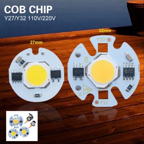 lampadine led 3W 5W 7W 9W lampada Chip integrato cob a palla per riflettore 220V