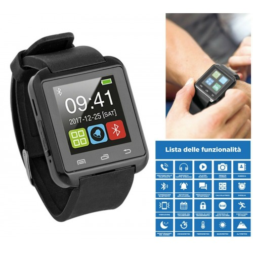 orologio smart watch Bluetooth display da 1.44