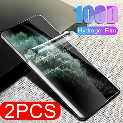 pellicola HD hydrogel copre 100% per Apple iphone 6 7 8 Plus X XS Max 11 Pro 12