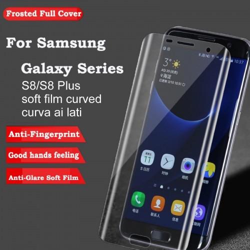 pellicola   lati curvi morbida Curved Cover Screen per Samsung Galaxy S8 & Plus