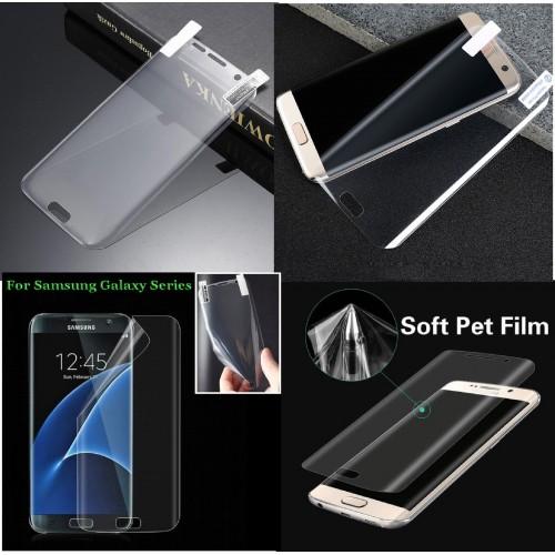 pellicola morbida Curved Film Screen full Samsung Galaxy S6 S7 S8 S9 Edge Plus