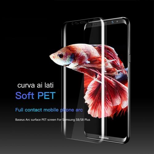 pellicola morbida in PET Curved full Cover Screen per Samsung Galaxy S8 & Plus