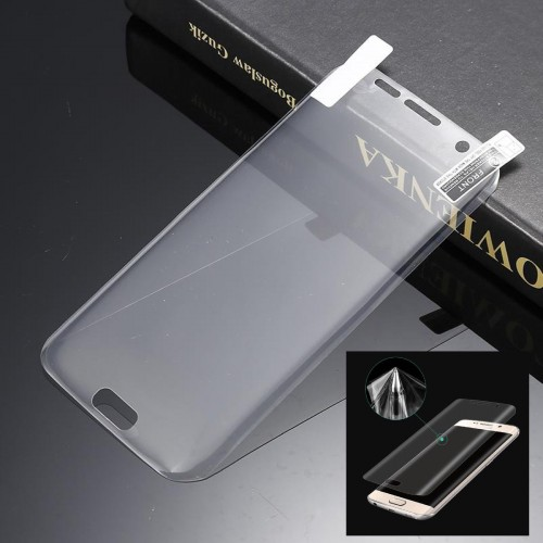 pellicola morbida tpu Curved Film Screen Samsung Galaxy S6 S7 S8 S9 Edge Plus