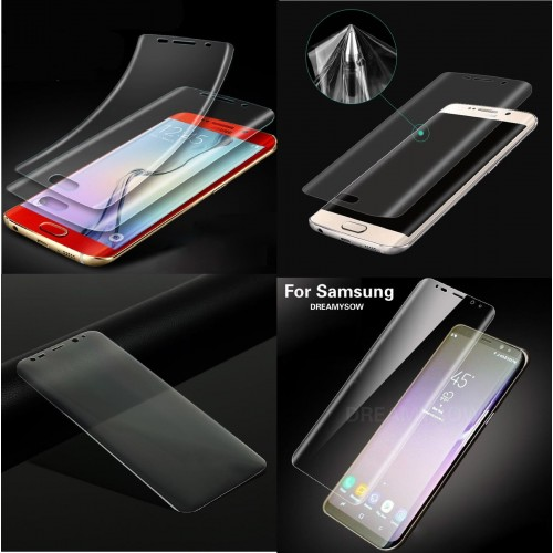 pellicola morbida tpu Curved Film Screen Samsung Galaxy S6 S7 S8 S9 Edge Plus