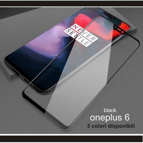 pellicola schermo vetro temperato colorato antisplosion per oneplus 3 3T 5 5T 6