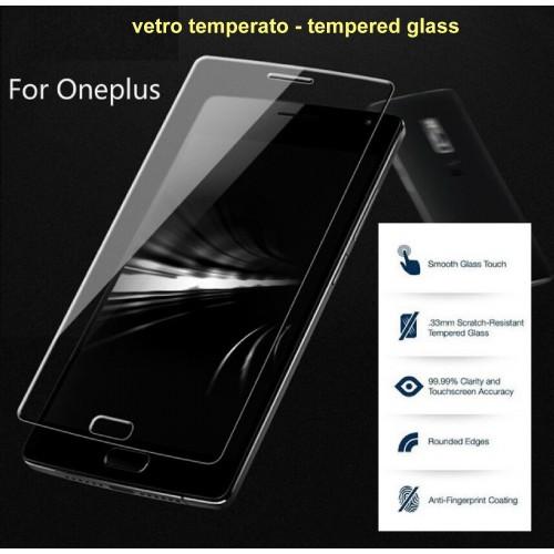 protezione schermo vetro temperato antiesplosione per oneplus 1 2 3 3T 5 5T 6 X