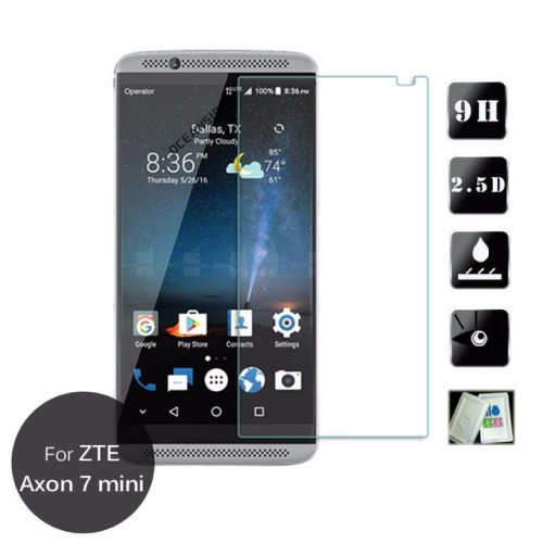 tempered glass pellicola vetro temperato 0.3mm 2.5D per ZTE AXON 7 mini B2017