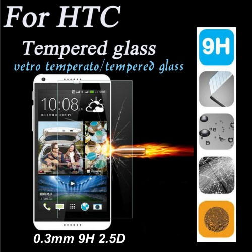 tempered glass vetro temperato per modelli Htc desire one eye A9 0.3mm 9H 2.5D